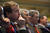 Colorado Senator Michael Bennet listens to the governor's speech.