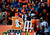 Broncos fans cheer on the defense in the first quarter. The Denver Broncos vs Baltimore Ravens AFC Divisional playoff game at Sports Authority Field Saturday January 12, 2013. (Photo by AAron  Ontiveroz,/The Denver Post)