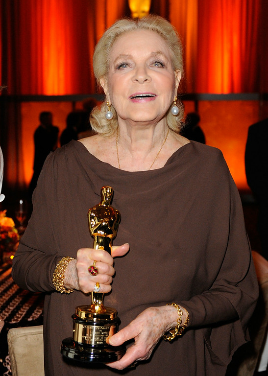 . FILE - AUGUST 12: Actress Lauren Bacall has died of a stroke. She was 89 years old. LOS ANGELES, CA - NOVEMBER 14:  Actress Lauren Bacall attends the Academy of Motion Picture Arts and Sciences\' Inaugural Governors Awards held at the Grand Ballroom at Hollywood & Highland Center on November 14, 2009 in Los Angeles, California.  (Photo by Kevork Djansezian/Getty Images)