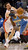 Toronto Raptors Andrea Bargnani (L) fights for the ball against Denver Nuggets Jordan Hamilton during the second half of their NBA basketball game in Toronto February 12, 2013.  REUTERS/Jon Blacker