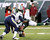 New York Jets quarterback Greg McElroy, bottom, is sacked by San Diego Chargers defensive end Corey Liuget, left, during the second half of an NFL football game on Sunday, Dec. 23, 2012, in East Rutherford, N.J. The Chargers won 27-17. (AP Photo/Bill Kostroun)