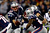 Tom Brady #12 of the New England Patriots hands the ball off to Stevan Ridley #22 during the 2013 AFC Divisional Playoffs game at Gillette Stadium on January 13, 2013 in Foxboro, Massachusetts.  (Photo by Jared Wickerham/Getty Images)
