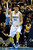 Denver Nuggets center JaVale McGee (34) reacts to a big dunk against the Los Angeles Lakers during the second half of the Nuggets' 126-114 win at the Pepsi Center on Wednesday, December 26, 2012. AAron Ontiveroz, The Denver Post