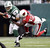 New York Jets quarterback Mark Sanchez (6) is sacked by Arizona Cardinals cornerback William Gay (22) during the second half of an NFL football game, Sunday, Dec. 2, 2012, in East Rutherford, N.J. (AP Photo/Kathy Willens)