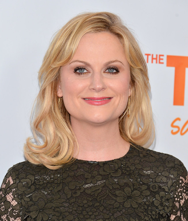 Description of . Actress Amy Poehler arrives to The Trevor Project's 'Trevor Live' event honoring singer Katy Perry at the Hollywood Palladium on December 2, 2012 in Hollywood, California.  (Photo by Alberto E. Rodriguez/Getty Images)