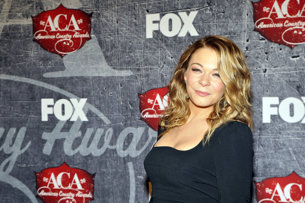 Description of . Singer LeAnn Rimes arrives at the American Country Awards on Monday, Dec. 10, 2012, in Las Vegas. (Photo by Jeff Bottari/Invision/AP)