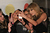 Taylor Swift takes photos with fans at the Brit Awards 2013 at the 02 Arena on February 20, 2013 in London, England.  (Photo by Eamonn McCormack/Getty Images)
