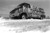 Blizzard of '82, Lovingway church van abandoned at 13th, one block west of Colo. Blvd. Denver Post Library Archive