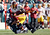 Colt Anderson #30 of the Philadelphia Eagles tackles Pierre Garcon #88 of the Washington Redskins during the first quarter of their game at Lincoln Financial Field on December 23, 2012 in Philadelphia, Pennsylvania.  (Photo by Alex Trautwig/Getty Images)
