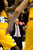 Denver Nuggets head coach George Karl watches the action during the second half of the Nugget's 92-78 win at the Pepsi Center on Tuesday, January 1, 2013. AAron Ontiveroz, The Denver Post
