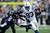 Dwayne Allen #83 of the Indianapolis Colts runs for yards after the catch against Cary Williams #29 of the Baltimore Ravens during the AFC Wild Card Playoff Game at M&T Bank Stadium on January 6, 2013 in Baltimore, Maryland.  (Photo by Patrick Smith/Getty Images)