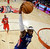 HOUSTON, TX - FEBRUARY 17:  LeBron James #6 of the Miami Heat and the Eastern Conference dunks the ball during the 2013 NBA All-Star game at the Toyota Center on February 17, 2013 in Houston, Texas. NOTE TO USER: User expressly acknowledges and agrees that, by downloading and or using this photograph, User is consenting to the terms and conditions of the Getty Images License Agreement.  (Photo by Eric Gay/Pool/Getty Images)