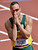This is a Saturday, Aug. 4, 2012 file photo of South Africa's Oscar Pistorius  as he reacts after finishing first in a men's 400-meter heat during the athletics in the Olympic Stadium at the 2012 Summer Olympics, London  Paralympic superstar Oscar Pistorius was charged Thursday Feb. 14. 2013 with the murder of his girlfriend who was shot inside his home in South Africa, a stunning development in the life of a national hero known as the Blade Runner for his high-tech artificial legs. (AP Photo/Martin Meissner, File)