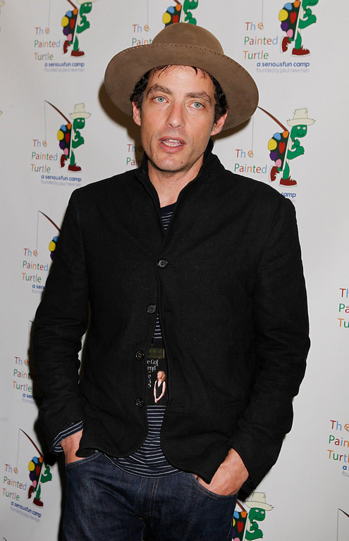 Description of . Singer and songwriter Jakob Dylan poses at
