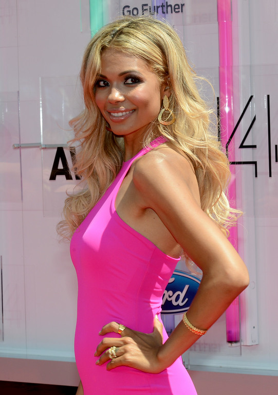 Description of . Actress Jennifer Freeman attends the BET AWARDS '14 at Nokia Theatre L.A. LIVE on June 29, 2014 in Los Angeles, California.  (Photo by Earl Gibson III/Getty Images for BET)