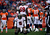 Tampa Bay Buccaneers quarterback Josh Freeman #5 kneels on the field during the second quarter.  The Denver Broncos vs The Tampa Bay Buccaneers at Sports Authority Field Sunday December 2, 2012. AAron  Ontiveroz, The Denver Post