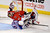 Ottawa Senators goalie Craig Anderson is taken down New York Rangers' Chris Kreider during the third period of an NHL hockey game in Ottawa, Ontario, Thursday, Feb. 21, 2013. (AP Photo/The Canadian Press, Adrian Wyld)
