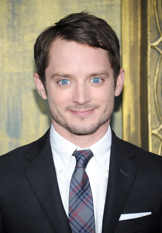 "Description of . Elijah Wood attends ""The Hobbit: An Unexpected Journey\"" New York premiere benefiting AFI at Ziegfeld Theater on December 6, 2012 in New York City.  (Photo by Michael Loccisano/Getty Images)"