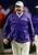 LSU head coach Les Miles walks the sidelines during the first half of the Chick-fil-A Bowl NCAA college football game against Clemson, Monday, Dec. 31, 2012, in Atlanta. (AP Photo/John Bazemore)