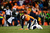 Denver Broncos outside linebacker Von Miller (58) is slow to get up after a play in the fourth quarter. The Denver Broncos vs Baltimore Ravens AFC Divisional playoff game at Sports Authority Field Saturday January 12, 2013. (Photo by AAron  Ontiveroz,/The Denver Post)