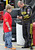 DAYTONA BEACH, FL - FEBRUARY 20:  Marcos Ambrose, driver of the #9 Stanley Ford, signs an autograph in the garage area during practice for the NASCAR Sprint Cup Series Daytona 500 at Daytona International Speedway on February 20, 2013 in Daytona Beach, Florida.  (Photo by Jerry Markland/Getty Images)