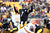 Ben Roethlisberger #7 of the Pittsburgh Steelers gestures during the game against the Clevelend Browns at Heinz Field on December 30, 2012 in Pittsburgh, Pennsylvania.  (Photo by Karl Walter/Getty Images)