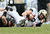 Robert Marve #9 of the Purdue Boilermakers is tackled by Caleb Lavey #45 of the Oklahoma State Cowboys during the Heart of Dallas Bowl at Cotton Bowl on January 1, 2013 in Dallas, Texas.  (Photo by Ronald Martinez/Getty Images)