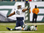 Kendall Reyes #91 of the San Diego Chargers reacts after sacking quarterback Greg McElroy #14 of the New York Jets during the second half at MetLife Stadium on December 23, 2012 in East Rutherford, New Jersey. The Chargers defeated the Jets 27-17. (Photo by Rich Schultz /Getty Images)