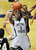 DENVER, CO. - MARCH 5: Metro State's junior guard Brandon Jefferson (3) attracted a crowd under the hoop in the second half. The Metro State University of Denver men's basketball team defeated Colorado Christian University 87-75 Tuesday night, March 5, 2013. (Photo By Karl Gehring/The Denver Post)