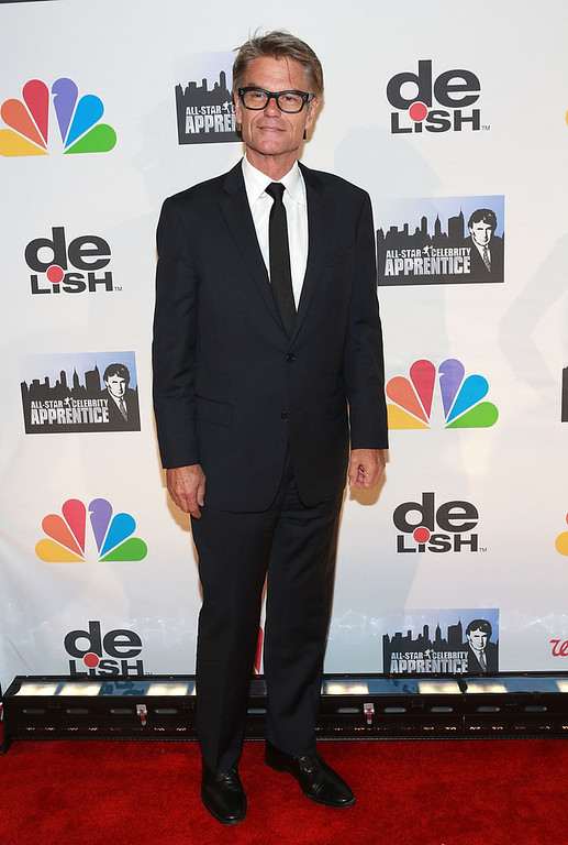 "Description of . Harry Hamlin attends ""All Star Celebrity Apprentice\"" Finale at Cipriani 42nd Street on May 19, 2013 in New York City.  (Photo by Robin Marchant/Getty Images)"