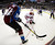 DENVER, CO. - FEBRUARY 11: David Jones (54) of the Colorado Avalanche chases after the puck with Boyd Gordon (15) of the Phoenix Coyotes during the first period February 11, 2013 at Pepsi Center.(Photo By John Leyba/The Denver Post)