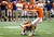 ATLANTA, GA - JANUARY 01:  Chandler Catanzaro #39 of the Clemson Tigers kicks the game-winning field goal against the LSU Tigers during the 2012 Chick-fil-A Bowl at Georgia Dome on December 31, 2012 in Atlanta, Georgia.  (Photo by Kevin C. Cox/Getty Images)