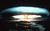 This Sept. 1971 file photo shows of a nuclear bomb detonated at the Mururoa atoll, French Polynesia. The French government is offering compensation to thousands of people who suffered health problems as a result of nuclear tests in Algeria and the South Pacific, the French Defense Minister Herve Morin said Tuesday March 24, 2009. (AP Photo)