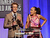 Presenters Gabriel Mann (L) and Ashley Madekwe speak onstage during the 15th Annual Costume Designers Guild Awards with presenting sponsor Lacoste at The Beverly Hilton Hotel on February 19, 2013 in Beverly Hills, California.  (Photo by Jason Merritt/Getty Images for CDG)