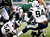 Corey Liuget #94 and Melvin Ingram #54 of the San Diego Chargers sack Greg McElroy #14 of the New York Jets at MetLife Stadium on December 23, 2012 in East Rutherford, New Jersey. (Photo by Jeff Zelevansky /Getty Images)