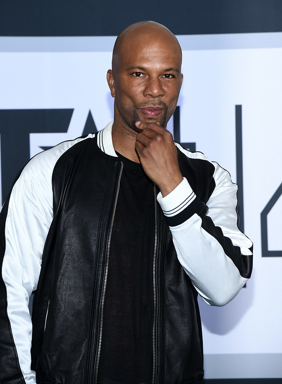 Description of . Actor/rapper Common poses in the press room during the BET AWARDS '14 at Nokia Theatre L.A. LIVE on June 29, 2014 in Los Angeles, California.  (Photo by Michael Buckner/Getty Images for BET)