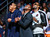NBA players Carmelo Anthony, Dwyane Wade and LeBron James (L-R) watch the slam dunk contest during the NBA basketball All-Star weekend in Houston, Texas, February 16, 2013. REUTERS/Jeff Haynes