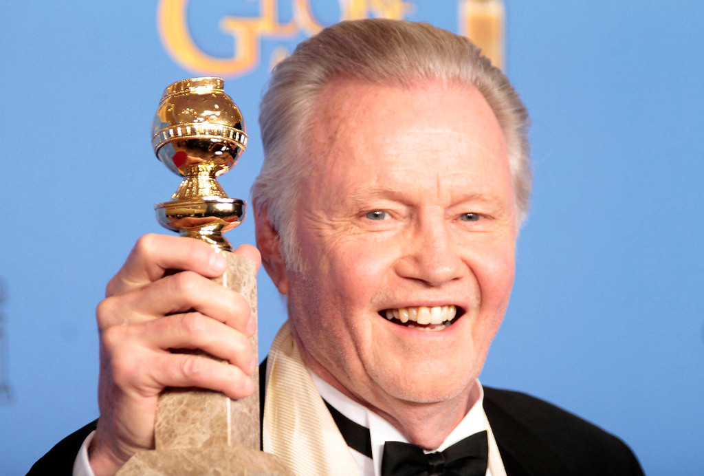 Description of . Jon Voight backstage at the 71st Annual Golden Globe Awards show at the Beverly Hilton Hotel on Sunday, Jan. 12, 2014, in Beverly Hills, Calif. (Lawrence K. Ho/Los Angeles Times/MCT)