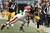 Cortez Allen #28 of the Pittsburgh Steelers is tackled by Alex Mack #55 of the Cleveland Browns after returning a fumble during the game at Heinz Field on December 30, 2012 in Pittsburgh, Pennsylvania.  (Photo by Karl Walter/Getty Images)
