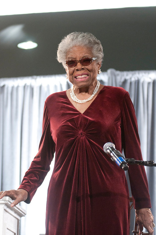 . Maya Angelou speaks during the AARP Magazine\'s 2011 Inspire Awards at Ronald Reagan Building on December 9, 2010 in Washington, DC. (Photo by Kris Connor/Getty Images)