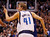 The Dallas Mavericks' Dirk Nowitzki (41) gestures after sinking a shot against the Denver Nuggets at the American Airlines Center in Dallas, Texas, on Friday, December 28, 2012. (Richard W. Rodriguez/Fort Worth Star-Telegram/MCT)