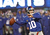 Eli Manning #10 of the New York Giants looks to pass against the New Orleans Saints during their game at MetLife Stadium on December 9, 2012 in East Rutherford, New Jersey.  (Photo by Jeff Zelevansky/Getty Images)