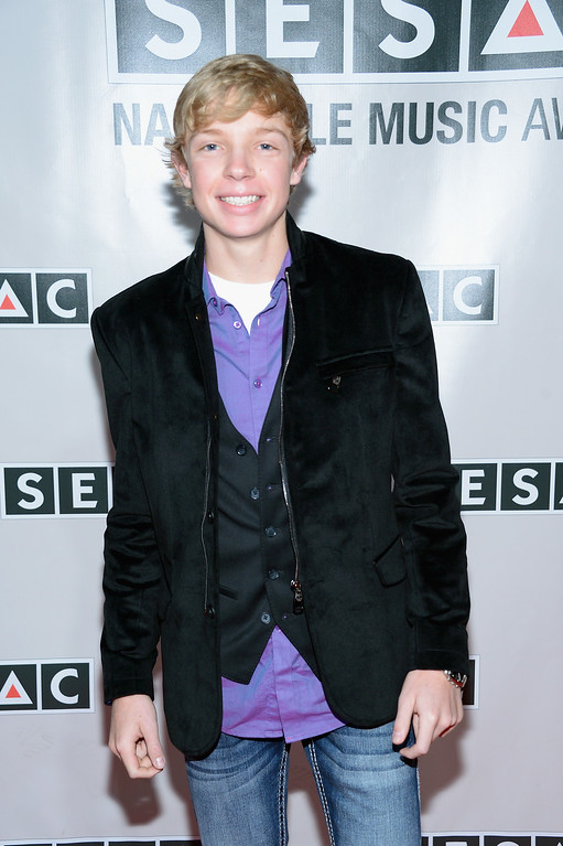 Description of . Singer/songwriter Easton Hamlin attends the 2013 SESAC Nashville awards at the Country Music Hall of Fame and Museum on November 3, 2013 in Nashville, Tennessee.  (Photo by Michael Loccisano/Getty Images)