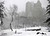 A man walks through Central Park after a snowstorm blanketed the park in New York, March 8, 2013.  REUTERS/Gary Hershorn