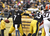Ben Roethlisberger #7 of the Pittsburgh Steelers is pushed out of the pocket against the Cleveland Browns during the game on December 30, 2012 at Heinz Field in Pittsburgh, Pennsylvania.  The Steelers defeated the Browns 24-10.  (Photo by Justin K. Aller/Getty Images)