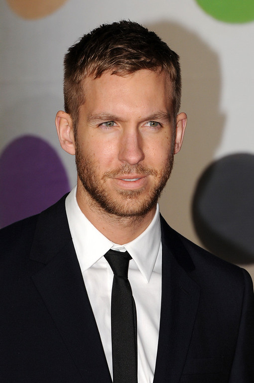 Description of . Calvin Harris attends the Brit Awards 2013 at the 02 Arena on February 20, 2013 in London, England.  (Photo by Eamonn McCormack/Getty Images)