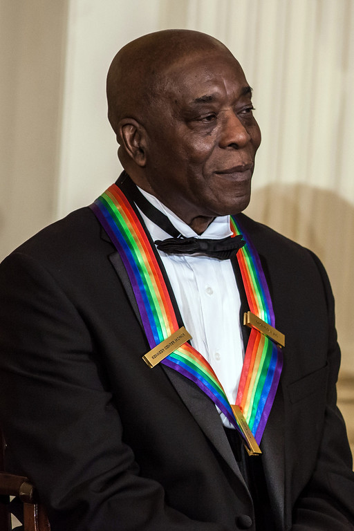 Description of . WASHINGTON - DECEMBER 2: (AFP OUT) Musician Buddy Guy attends the Kennedy Center Honors reception at the White House on December 2, 2012 in Washington, DC. The Kennedy Center Honors recognized seven individuals - Buddy Guy, Dustin Hoffman, David Letterman, Natalia Makarova, John Paul Jones, Jimmy Page, and Robert Plant - for their lifetime contributions to American culture through the performing arts. (Photo by Brendan Hoffman/Getty Images)