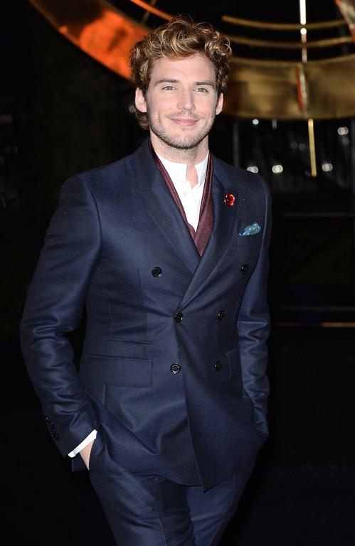 Description of . Sam Claflin attends the UK Premiere of