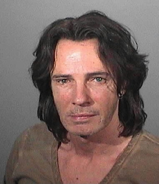 . In this handout photo provided by the Los Angeles County Sheriff\'s Department, Rick Springfield is pictured in a booking photo May 1, 2011 in Malibu, California.  Springfield was arrested on suspicion of driving under the influence of alcohol after being pulled over for a traffic violation on the Pacific Coast Highway near Malibu.  (Photo by Los Angeles County Sheriff\'s Department via Getty Images)