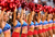 The Arizona Cardinals cheerleaders perform during the NFL game against the Detroit Lions at the University of Phoenix Stadium on December 16, 2012 in Glendale, Arizona. The Cardinals defeated the Lions 38-10.  (Photo by Christian Petersen/Getty Images)